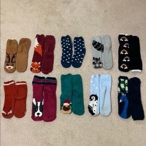 Well Worn Cozy & Fun Fuzzy Socks!